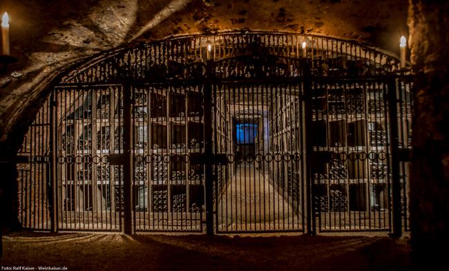 Schloss Johannisberg - Schatzkammer Bibliotheca subterranea