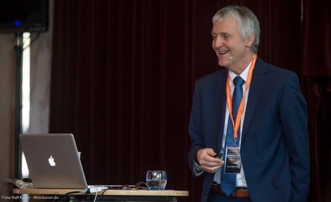 Prof. Ulrich Fischer (Neustadt) beim International Pinot Noir Symposium 2017