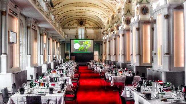 Concours Mondial du Sauvignon 2018 in der alten Universität Graz