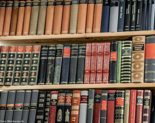 Ein Blick in die Weinkaiser-Bibliothek....