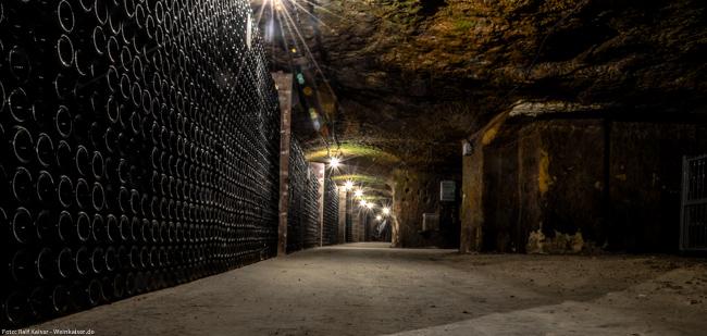 Galerien im Keller von Monmousseau