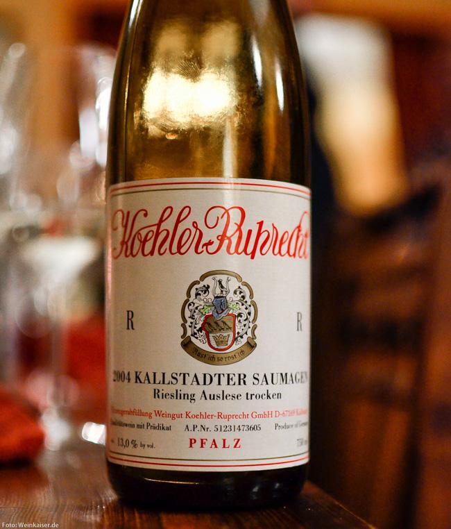 Koehler-Ruprecht Kallstadter Saumagen Riesling Auslese trocken R