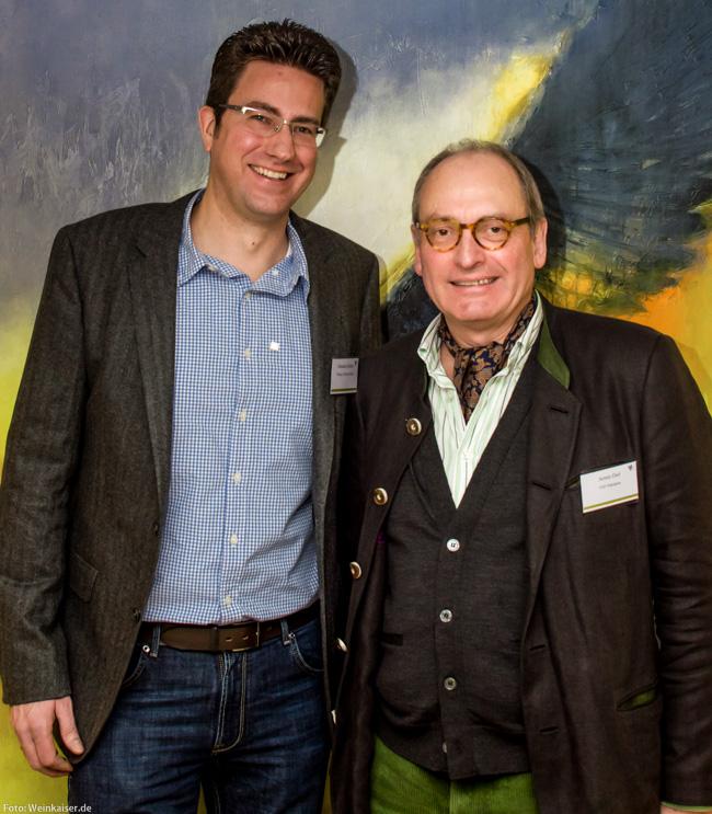 VDP Vize Armin Diel mit Neumitglied Sebastian Schäfer