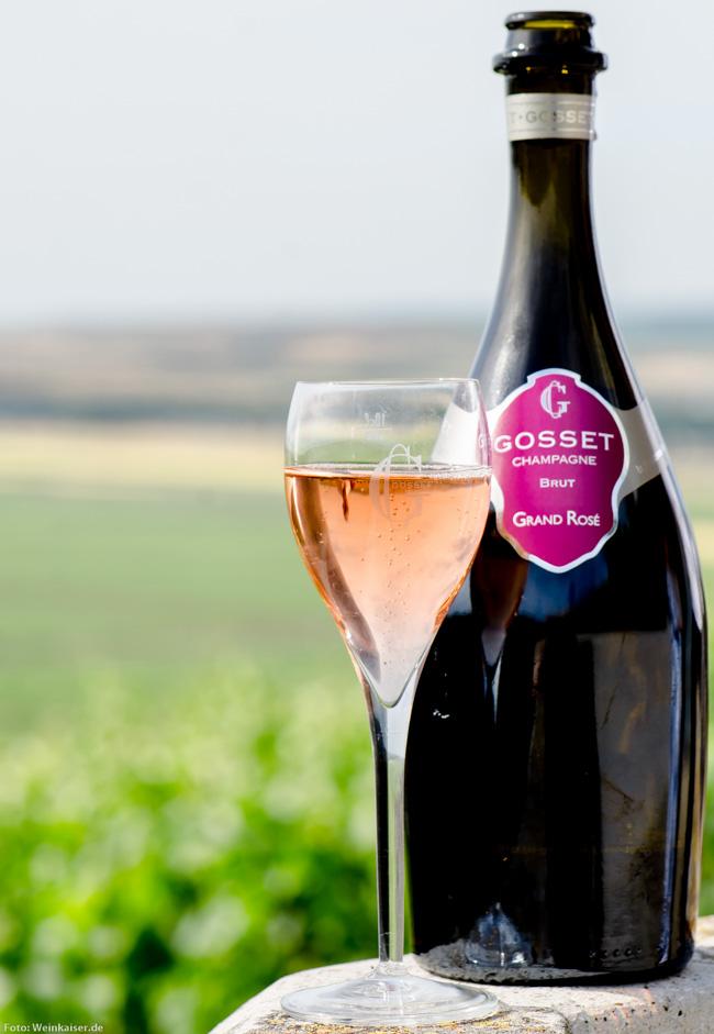 Champagne Gosset Grand Rosé