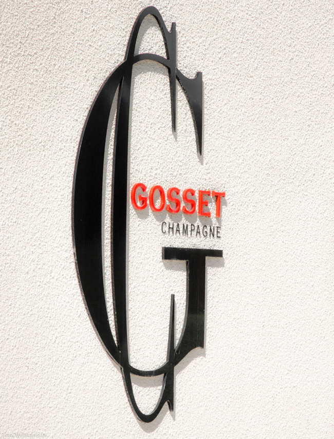 Champagne Gosset in Epernay