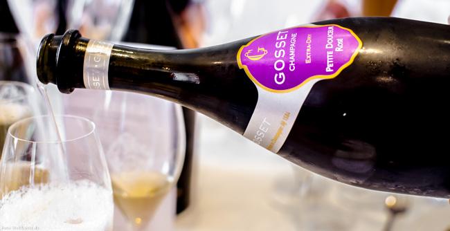 Champagne Gosset Petite Douceur Rosé Extra Dry