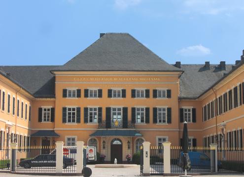 Schloss Johannisberg - Innenhof