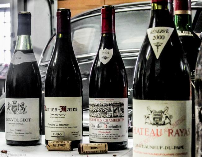 Von Clos de Vougeot 1978 bis Rayas 2000