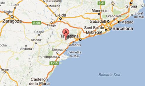 Capcanes in der Spanischen Weinregion Montsant