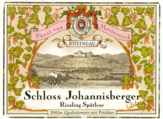 Schloss Johannisberg Riesling Spätlese 2002