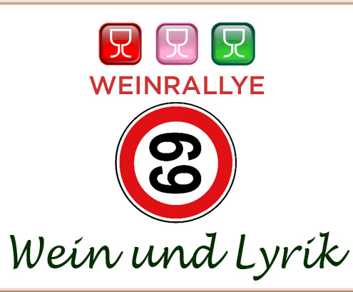 Logo zur Weinrallye 69 - Wein und Lyrik